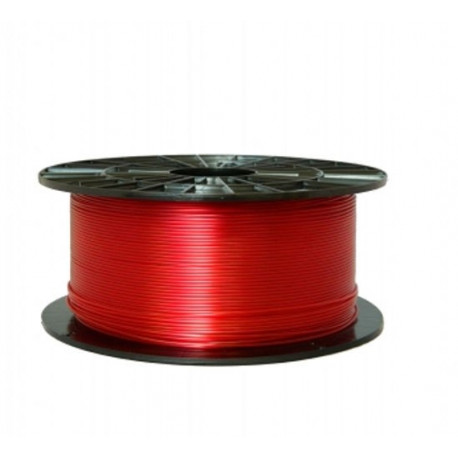 PETG transparentný červený - Plasty Mladeč 1.75mm 1kg