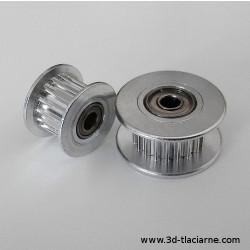 Napínacia remenica GT2 s ozubením na remeň 6mm