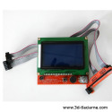 LCD displej s ovládaním (RepRap Full Graphic Smart Controller)