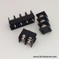 Konektor - Terminal Block, 7,62mm, čierna