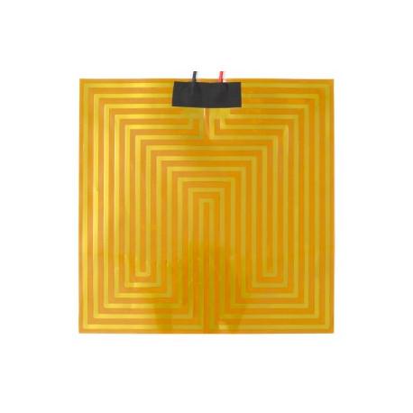Kaptonová výhrevná podložka 12V alebo 24V (30x30cm)