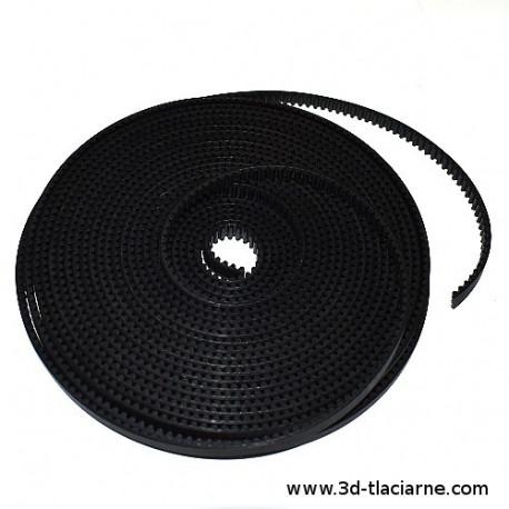 Ozubený remeň S3M PU3 6mm čierny