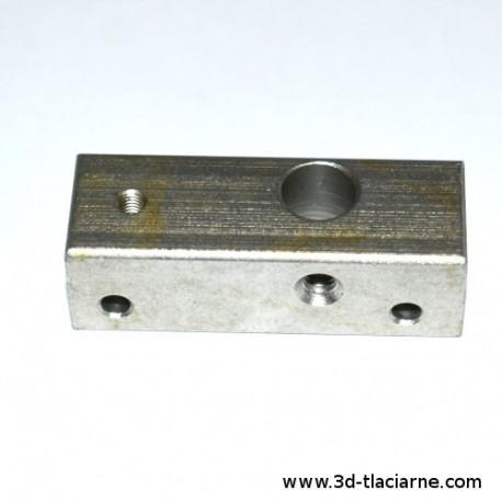 Hotend blok MK10/MK2, 42x15x13mm