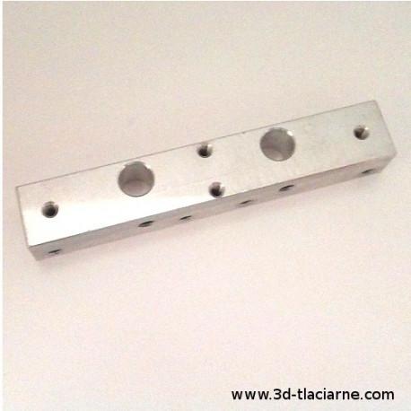Hotend blok MK10, 87x15x13mm