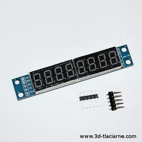 LED displej - 8 Digit
