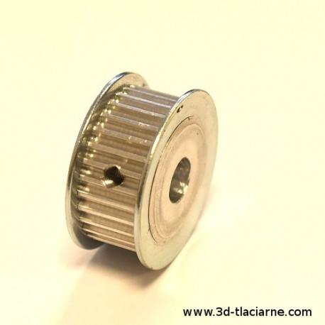 Remenica HTD3M, otvor 8mm,  30 zubov, na remeň 10mm