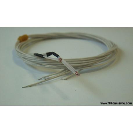 Termistor NTC 100K s káblom bez koncovky