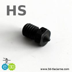 E3D tryska HS tvrdená oceľ (0,4mm)
