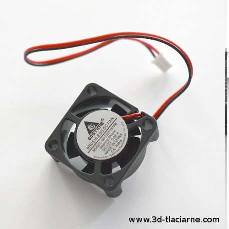 Chladiaci ventilátor (priamy) 25x25x10mm 12V