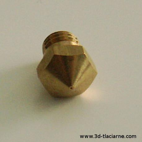 Tryska mosadzná (13mm / 0,4mm)
