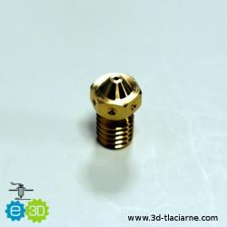 E3D tryska mosadzná (0,8mm)