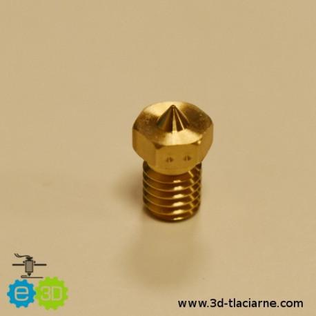 E3D tryska mosadzná (0,15mm)