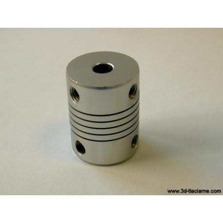 Pružná spojka - valec 19x25mm (variant 5x5mm)
