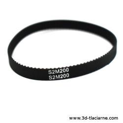 Ozubený remeň S2M GT2 6mm - 200 mm