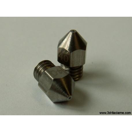 Tryska nerezová (13mm): 0,6mm pre 1,75 filament