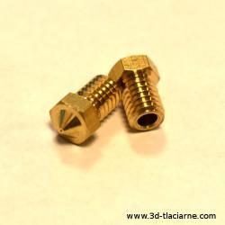 Tryska V6 mosadzná - 3,00 mm filament
