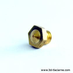 tryska CYCLOP mosadzná (0,4mm)