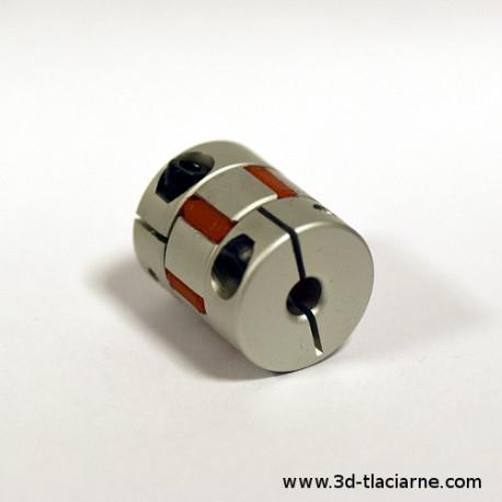 Pružná spojka s plastovým absorbérom 5x8mm