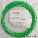 PLA Extrafill vzorka - Luminous Green Fillamentum