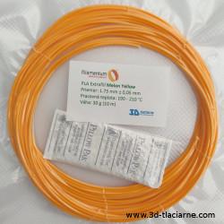 PLA Extrafill vzorka - Melon Yellow FillamentumKatalóg  Produkty Náh