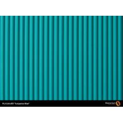 PLA Extrafill vzorka - Turquoise Blue Fillamentum
