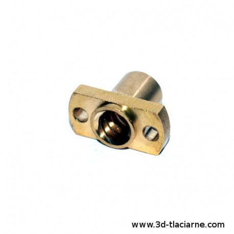 Trapézová matica T8 - 8mm úzka
