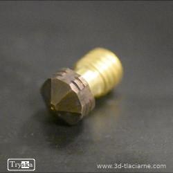 SK Tryska V6 mosadzná 0,6 mm - 1,75 mm filament
