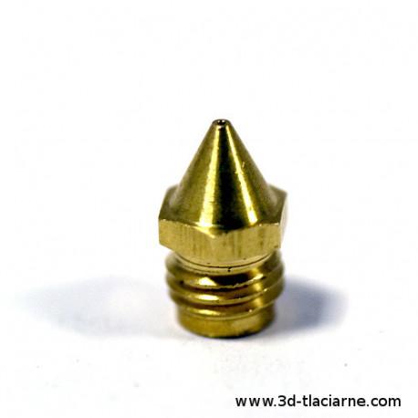 Tryska mosadzná M7-DUO 0,4mm