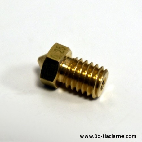 Tryska V6 mosadz 1,75 filament