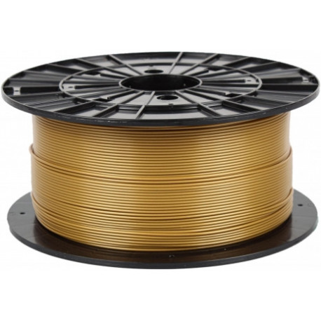 PLA zlatá Plasty Mladeč 1.75mm 1kg