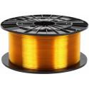 PETG transparentný žltý - Plasty Mladeč 1.75mm 1kg