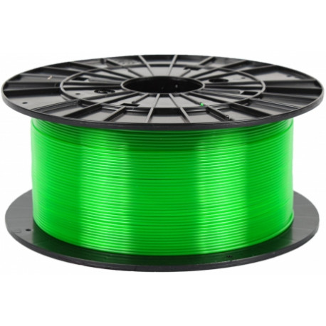 PETG transparentný zelený - Plasty Mladeč 1.75mm 1kg