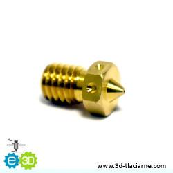 E3D tryska mosadzná (0,35mm)