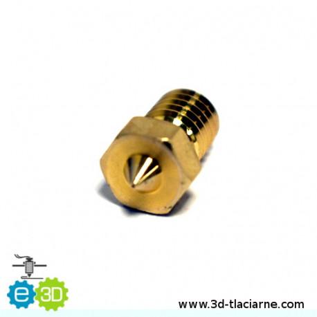 E3D tryska mosadzná (0,25mm)