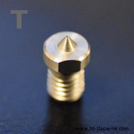 Titánová tryska (12,4 M6) pre 1,75 filament