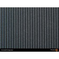 PLA Extrafill vzorka - Vertigo Grey Fillamentum