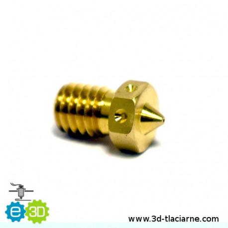 E3D tryska mosadzná (0,5mm)