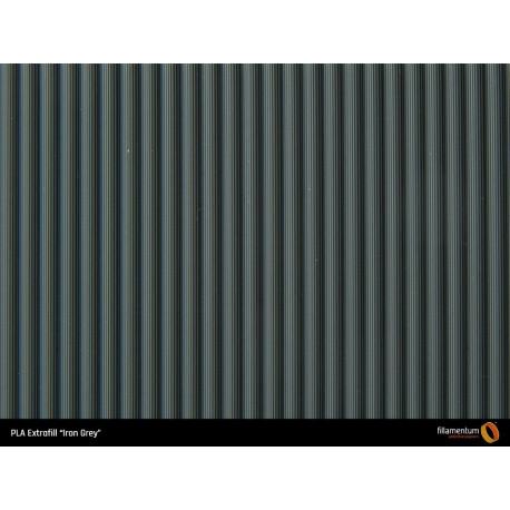PLA Extrafill vzorka - Iron Grey Fillamentum