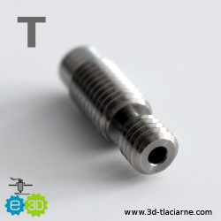 E3D Heatbreak V6 Titan 2,85  (22mm) allmetal
