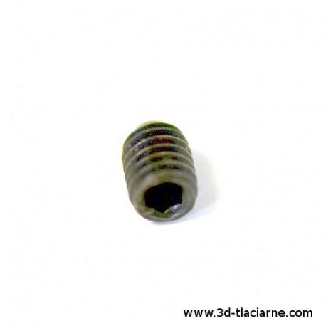 Červík imbus skrutka M3 4mm 5ks