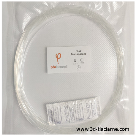 PLA Filaticum vzorka - transparentná