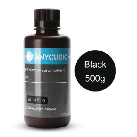 Anycubic UV Resin 500 ml Black