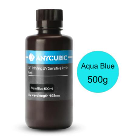 Anycubic UV Resin 500 ml Aqua Blue