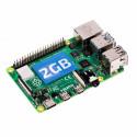 Raspberry Pi 4 Model B - 2GB RAM, USB zdroj, micro SDHC 32GB