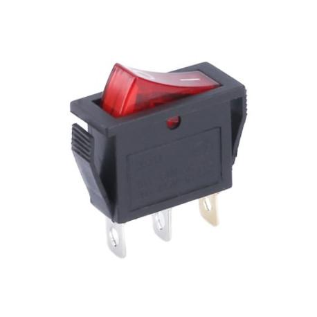 Vypínač vstavaný kolískový