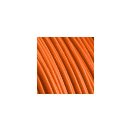 TPU FIBERFLEX 40D vzorka - Orange Fiberlogy 1.75mm5 metrov