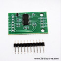 modul HX711 pre váhový snímač