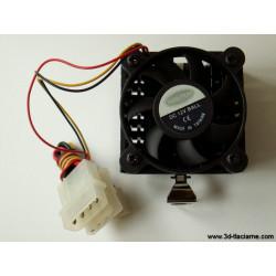Chladiaci ventilátor 12V axiálny 52x52x30mm