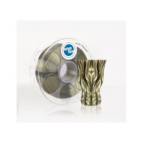 SILK AzureFilm - Olive Gold 1.75 mm 1 kg