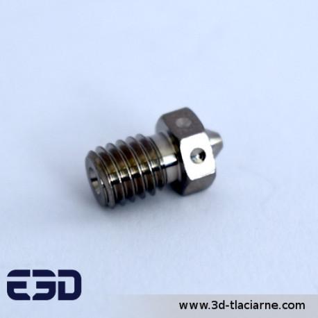 E3D tryska pokovená meď (0,6mm)